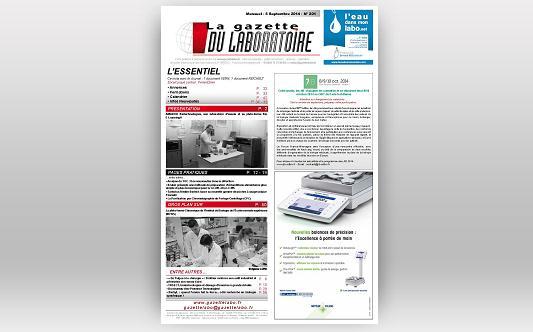 """Article dans """"La gazette du Laboratoire"""""""